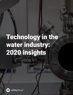 Technology Trends in the Water Industry | Utility Cloud-01