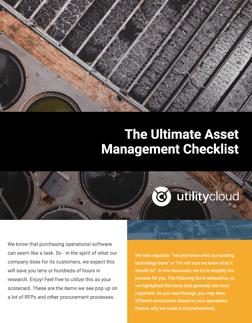 The Ultimate Asset Management Checklist